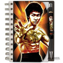 AWMA® Bruce Lee Notepad & Pen Set