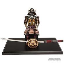 AWMA® Black Samurai with Letter Opener