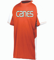 Hurricanes Baseball Men's/Youth Color-Block Dri-Fit T-Shirt