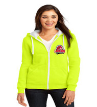 Lake Gem Ladies Zip-Up Hooded Sweatshirt