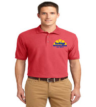 Sunridge elementary men's polo w/ embroidery