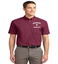 Rosemont men's short sleeve button-up
