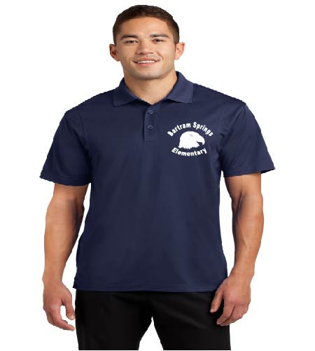 Bartram Springs men's dri-fit polo