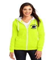 Bartram Springs ladies zip up hooded sweatshirt