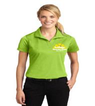 Sunridge Elementary ladies dri-fit polo w/ embroidery