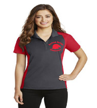 Bartram Springs ladies color block dri-fit polo w/ printed logo