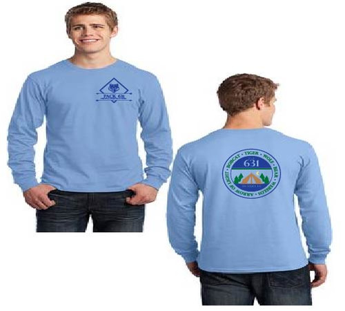 Pack 631 Men's long sleeve t-shirt