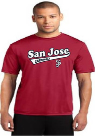 San Jose Cardinals men's dri fit shirt