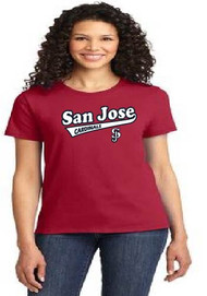 San Jose Cardinals ladies t-shirt