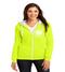 Single Creek ladies zip-up hooded sweatshirt