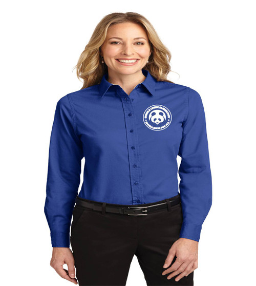 Shingle Creek ladies long sleeve button-up
