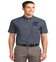 Orlo Vista men's short sleeve button-up