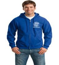 Orlo Vista Adult Zip-Up Hooded Sweatshirt