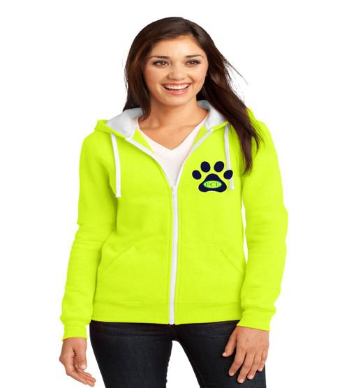 Eagle Creek ladies zip up hoodie