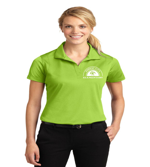 Forest City ladies dri fit polo