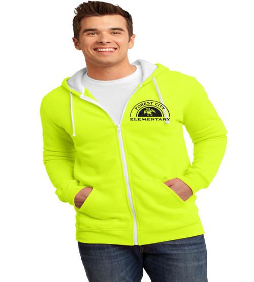 Forest City men's zip up hoodie