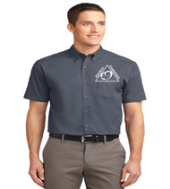 Oakshire Men's short sleeve button up
