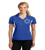 Sadler ladies color block polo