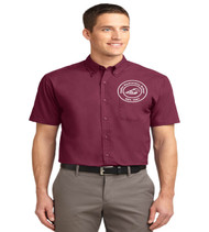 Sadler men's short sleeve button up