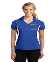 Rock Lake ladies color block dri fit polo