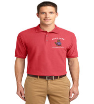 Rock Lake men's basic polo