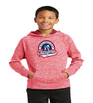 Patriot Oaks Youth Electric Heather Dri-fit Hoodie