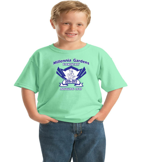 Millennia Gardens youth spirit t-shirt