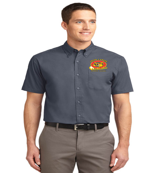 South creek mens short sleeve button up