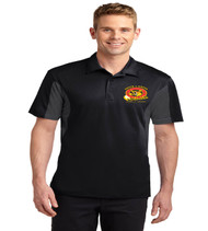 South Creek men's color block dri fit polo