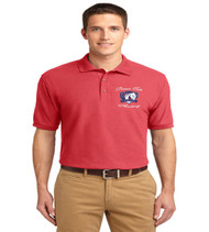 Patriot Oaks men's basic polo