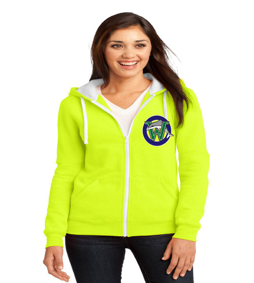 Waterbridge ladies zip up hoodie