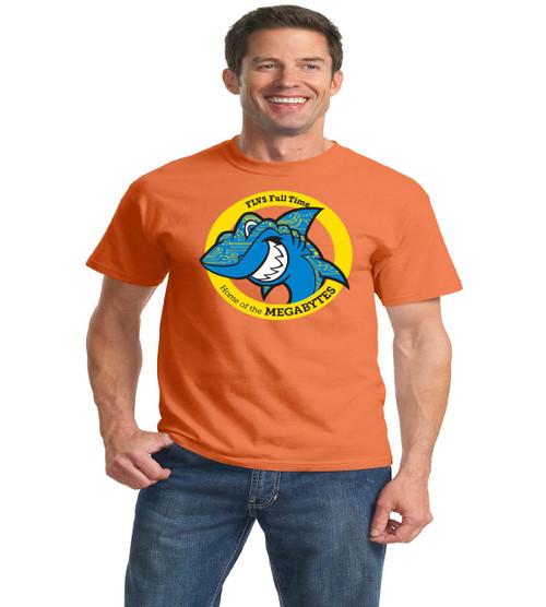 Fla virtual adult orange short sleeve