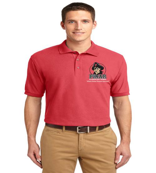 Pinar men's basic polo