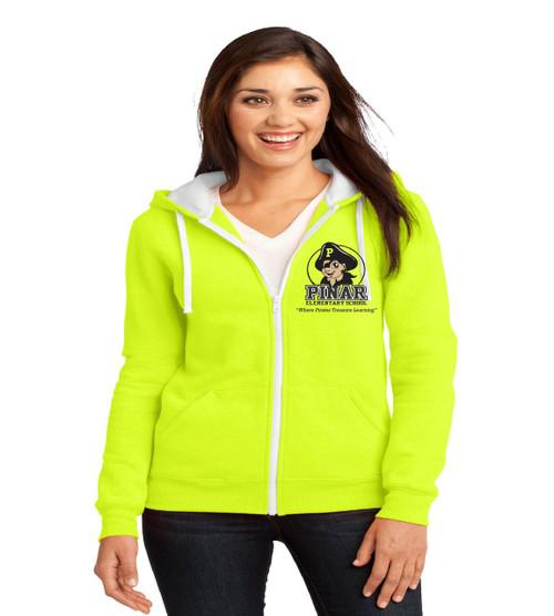 Pinar ladies zip up hoodie