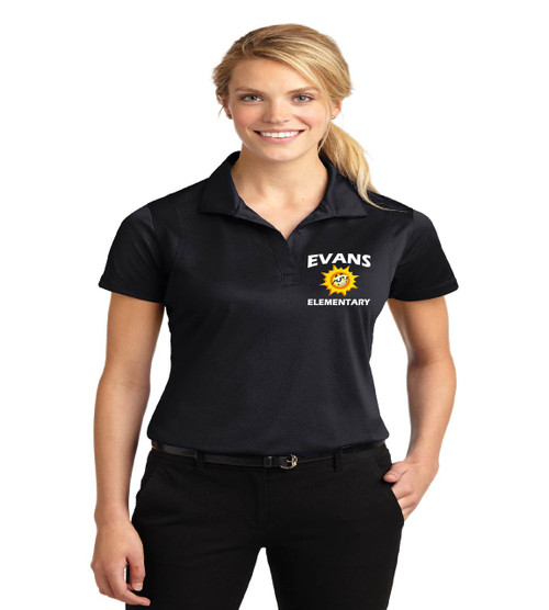 Evans ladies dri fit polo