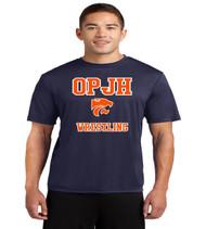 OPJH Wrestling dri fit tee