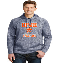 OPJH Wrestling heather polyester hoodie