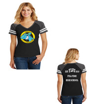 Fla Virtual school ladies jersey tee