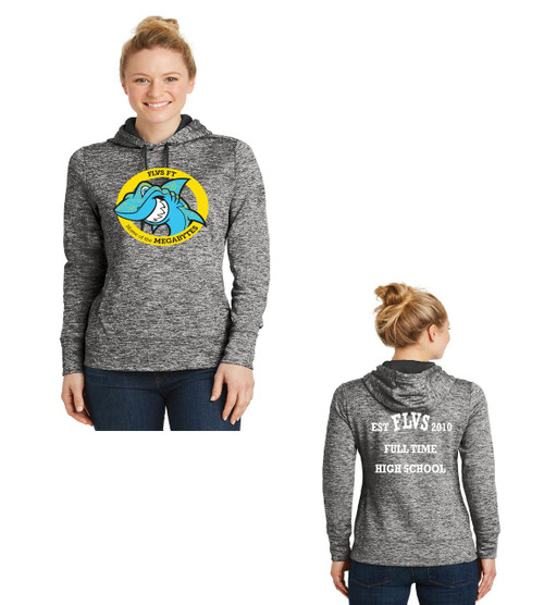 Fla virtual school ladies dri fit hoodie