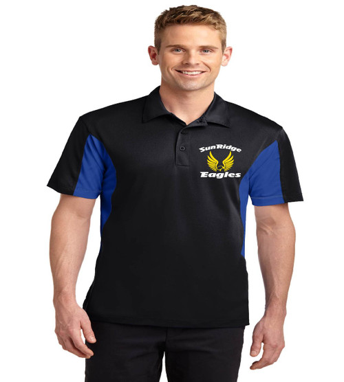 Sunridge Middle men's color block polo