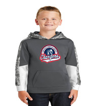 Patriot Oaks Youth Camo-Hex Dri-Fit Hoodie