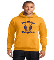 sunridge middle basic gold hoodie