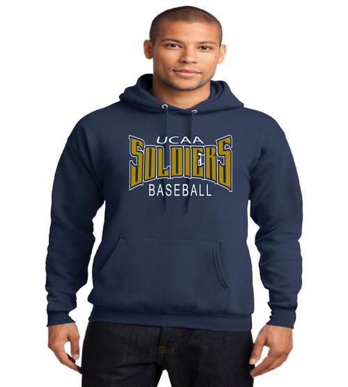 UCAA baseball basic hoodie