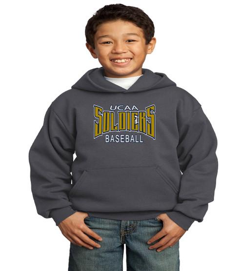 UCAA baseball youth basic hoodie