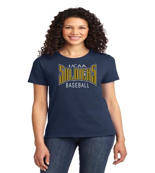 UCAA baseball ladies tee