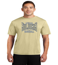UCAA baseball dri fit tee