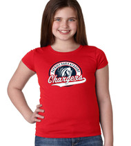 Patriot Oaks Girls Fitted Soft Cotton T-Shirt