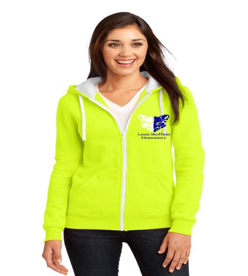 Sheffield ladies zip up hoodie