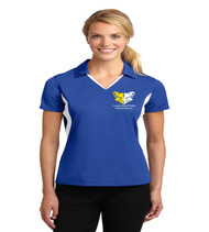 Sheffield ladies color block polo