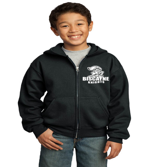Biscayne zip up hoodie